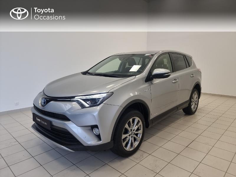Toyota RAV4 197 Hybride Dynamic Edition 2WD CVT RC18 Hybride gris clair Occasion à vendre
