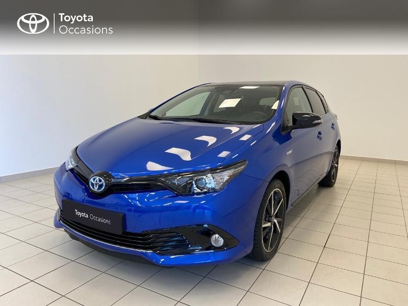 Toyota Auris HSD 136h Collection RC18 Hybride bleu Occasion à vendre