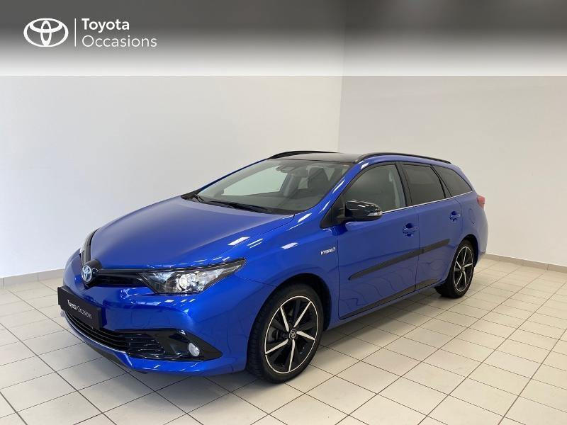 Toyota Auris Touring Sports HSD 136h Collection RC18 Hybride Bleu Métal Occasion à vendre