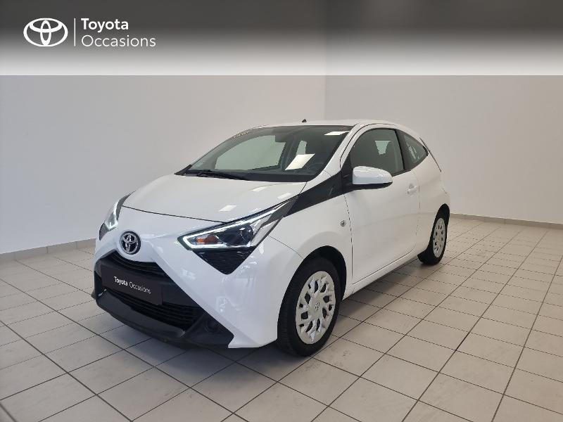 Toyota Aygo 1.0 VVT-i 72ch x-play 3p Essence BLANC PUR Occasion à vendre