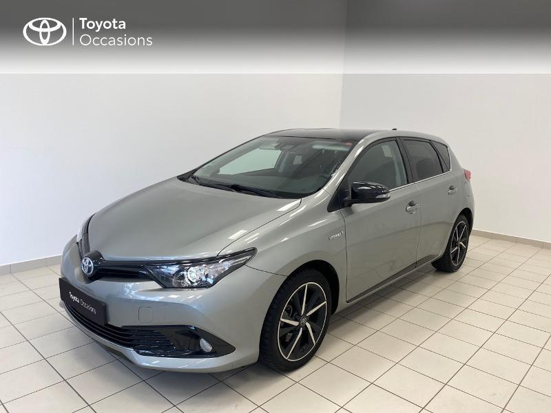 Toyota Auris HSD 136h Collection RC18 Hybride BI-TON GRIS PLATINE Occasion à vendre