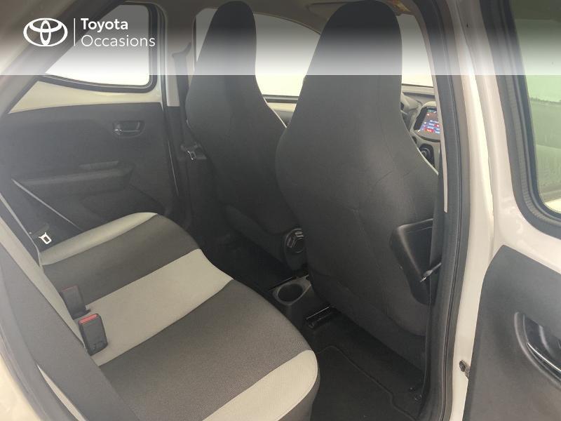 Photo 7 de l'offre de TOYOTA Aygo 1.0 VVT-i 69ch x-play 5p à 9480€ chez Brest Automobiles - Toyota Brest