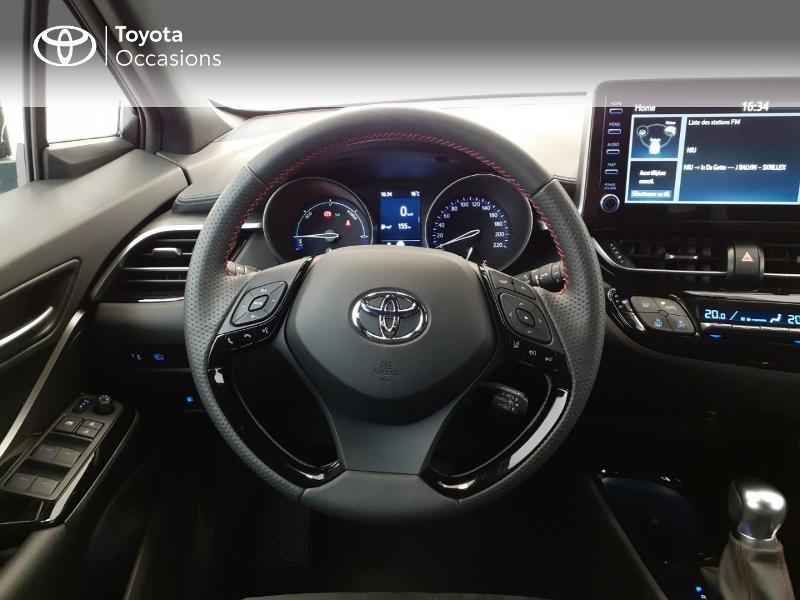 Photo 9 de l'offre de TOYOTA C-HR 184h GR-Sport 2WD E-CVT MY20 à 32980€ chez Brest Automobiles - Toyota Brest