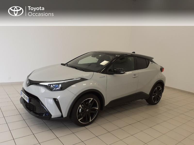 Photo 3 de l'offre de TOYOTA C-HR 184h GR-Sport 2WD E-CVT MY20 à 32980€ chez Brest Automobiles - Toyota Brest