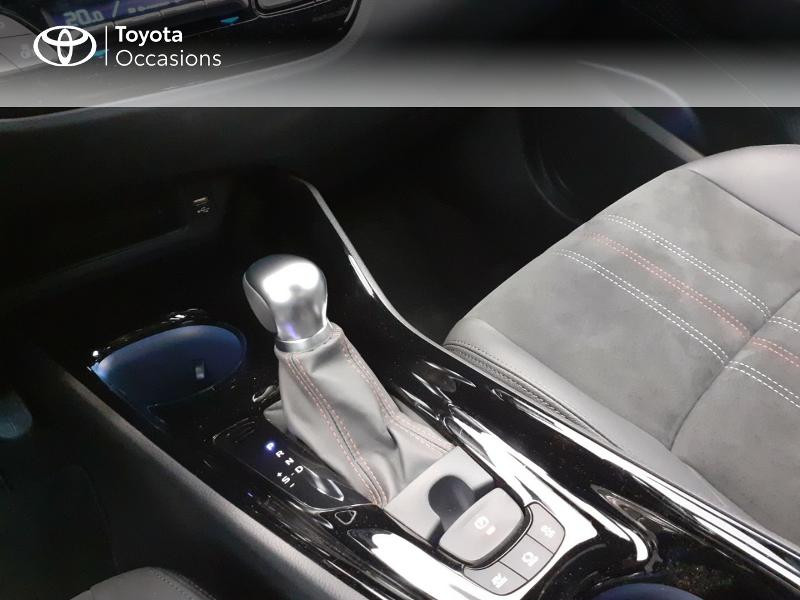 Photo 23 de l'offre de TOYOTA C-HR 184h GR-Sport 2WD E-CVT MY20 à 32980€ chez Brest Automobiles - Toyota Brest