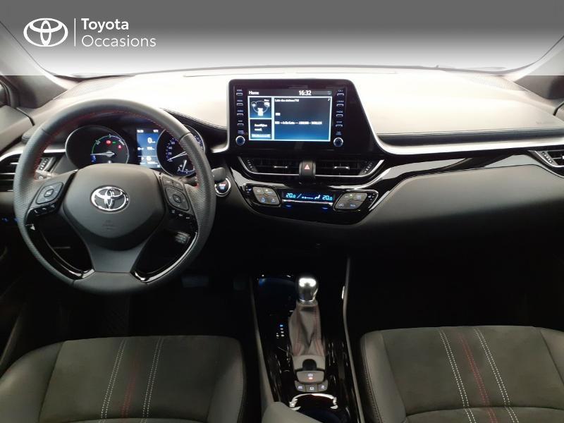 Photo 8 de l'offre de TOYOTA C-HR 184h GR-Sport 2WD E-CVT MY20 à 32980€ chez Brest Automobiles - Toyota Brest