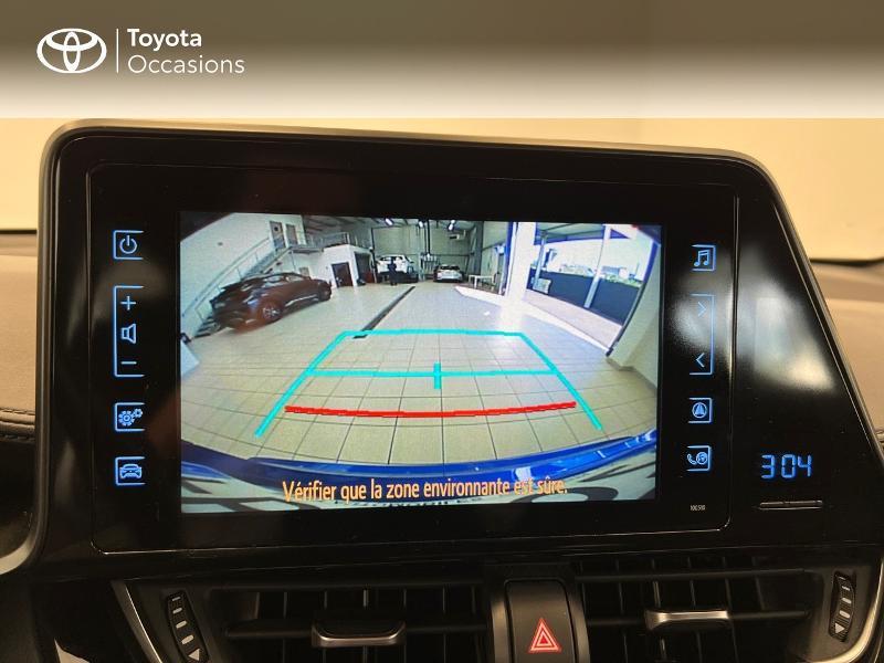 Photo 19 de l'offre de TOYOTA C-HR 122h Dynamic Business 2WD E-CVT à 17480€ chez Brest Automobiles - Toyota Brest