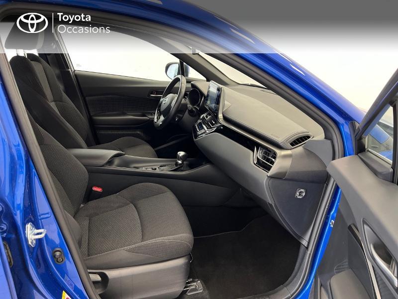 Photo 6 de l'offre de TOYOTA C-HR 122h Dynamic Business 2WD E-CVT à 17480€ chez Brest Automobiles - Toyota Brest