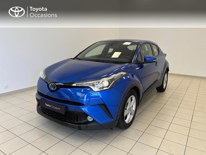 Toyota C-HR 122h Dynamic Business 2WD E-CVT Hybride Bleu Occasion à vendre