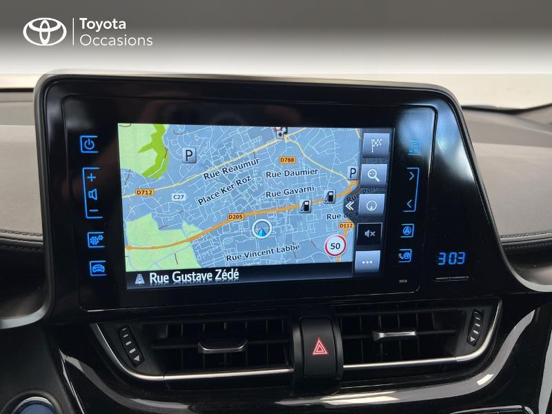 Photo 18 de l'offre de TOYOTA C-HR 122h Dynamic Business 2WD E-CVT à 17480€ chez Brest Automobiles - Toyota Brest
