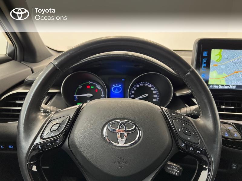 Photo 9 de l'offre de TOYOTA C-HR 122h Dynamic Business 2WD E-CVT à 17480€ chez Brest Automobiles - Toyota Brest