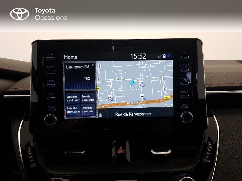 Photo 15 de l'offre de TOYOTA Corolla 122h Collection MY20 à 26980€ chez Brest Automobiles - Toyota Brest