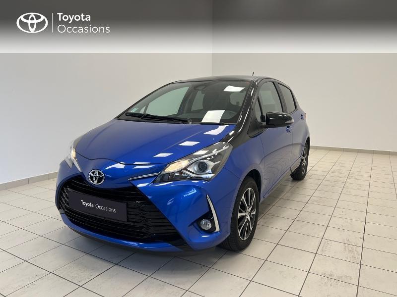 Toyota Yaris 110 VVT-i Design 5p RC18 Essence BI TON BLEU NEBULA Occasion à vendre