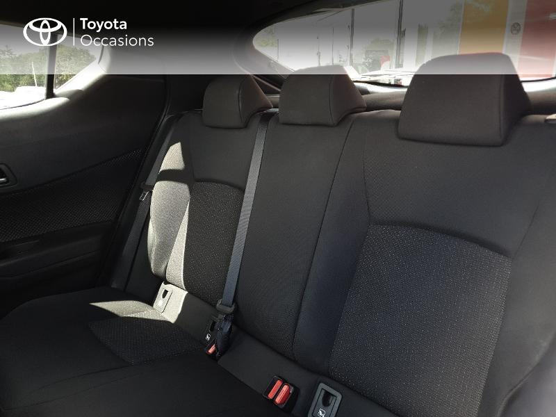 Photo 14 de l'offre de TOYOTA C-HR 122h Edition 2WD E-CVT RC18 à 21480€ chez Cap Ouest Auto - Toyota Morlaix