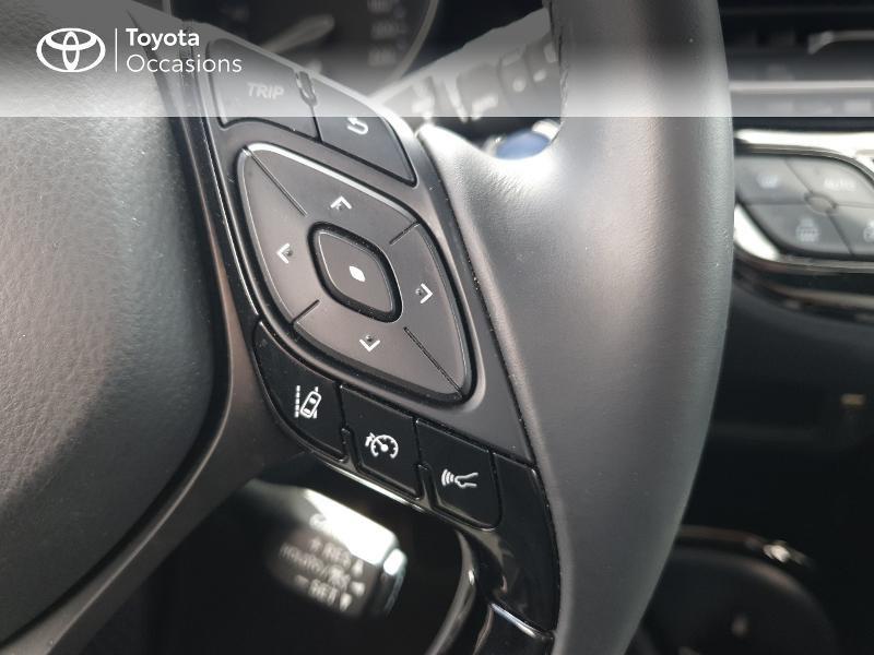 Photo 10 de l'offre de TOYOTA C-HR 122h Edition 2WD E-CVT RC18 à 21480€ chez Cap Ouest Auto - Toyota Morlaix