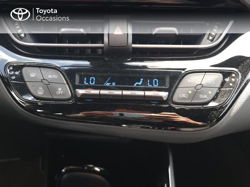 Photo 11 de l'offre de TOYOTA C-HR 122h Edition 2WD E-CVT RC18 à 21480€ chez Cap Ouest Auto - Toyota Morlaix