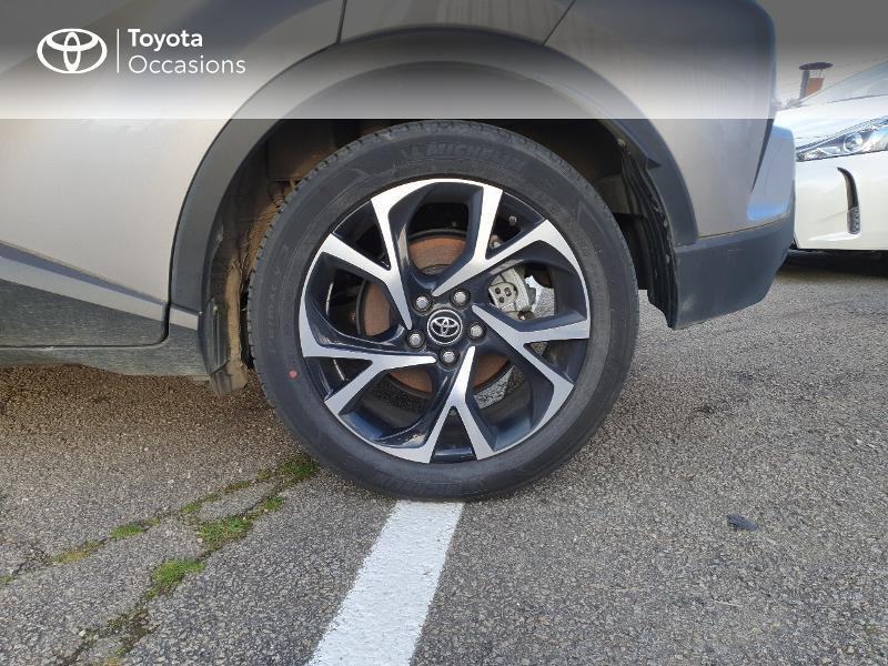 Photo 4 de l'offre de TOYOTA C-HR 122h Edition 2WD E-CVT RC18 à 21480€ chez Cap Ouest Auto - Toyota Morlaix