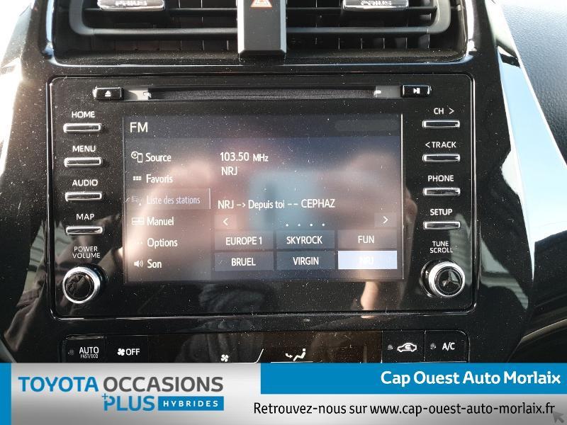 Photo 7 de l'offre de TOYOTA Prius 122h Dynamic MC19 à 26480€ chez Cap Ouest Auto - Toyota Morlaix