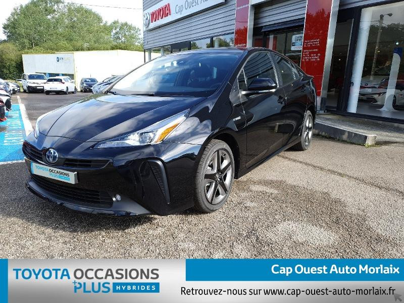 Photo 1 de l'offre de TOYOTA Prius 122h Dynamic MC19 à 26480€ chez Cap Ouest Auto - Toyota Morlaix