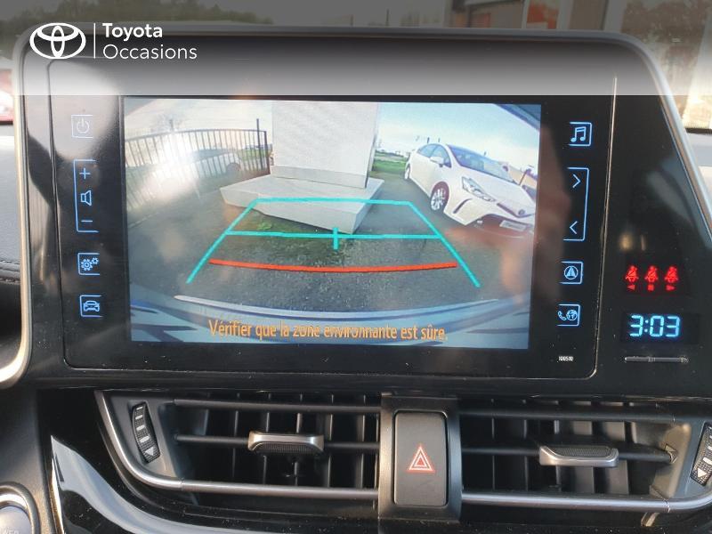 Photo 17 de l'offre de TOYOTA C-HR 122h Edition 2WD E-CVT RC18 à 21480€ chez Cap Ouest Auto - Toyota Morlaix