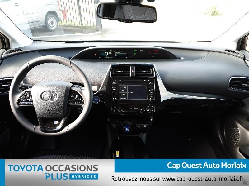 Photo 5 de l'offre de TOYOTA Prius 122h Dynamic MC19 à 26480€ chez Cap Ouest Auto - Toyota Morlaix