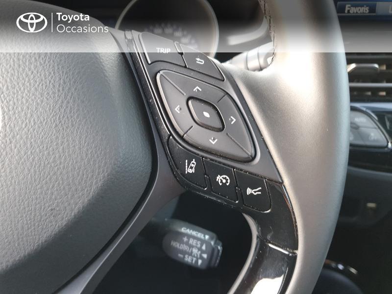 Photo 12 de l'offre de TOYOTA C-HR 122h Edition 2WD E-CVT RC18 à 21480€ chez Cap Ouest Auto - Toyota Morlaix