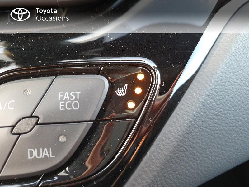 Photo 19 de l'offre de TOYOTA C-HR 122h Edition 2WD E-CVT RC18 à 21480€ chez Cap Ouest Auto - Toyota Morlaix