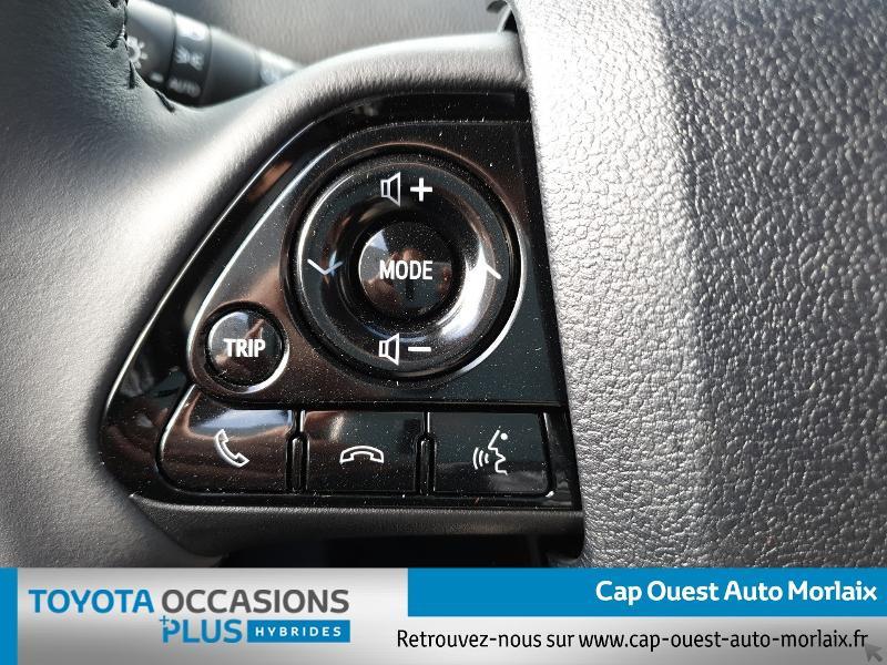 Photo 16 de l'offre de TOYOTA Prius 122h Dynamic MC19 à 26480€ chez Cap Ouest Auto - Toyota Morlaix