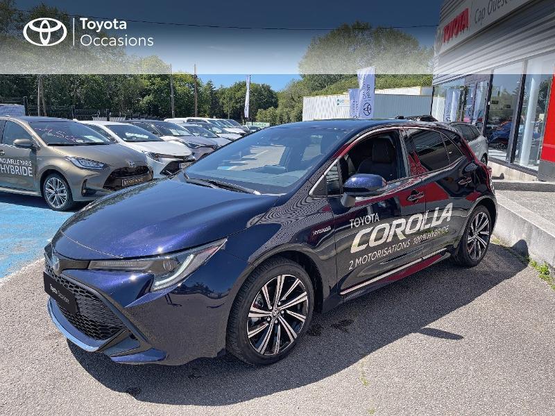 Toyota Corolla 122h Design MY21 Hybride Bleu Occasion à vendre