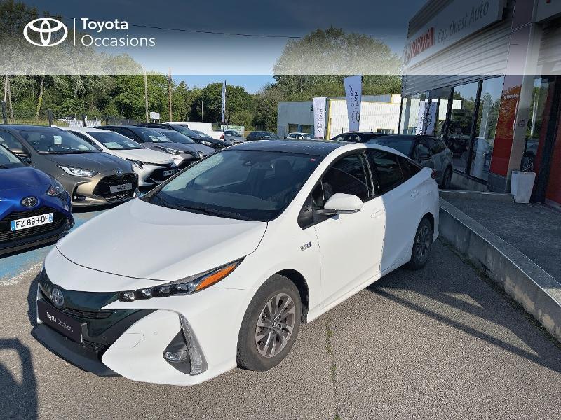 Toyota Prius Rechargeable 122h Solar RC18 Hybride blanc Occasion à vendre