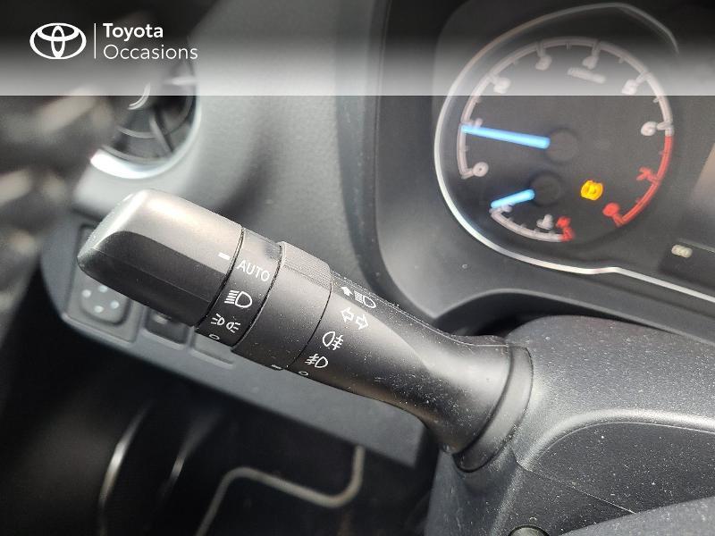 Photo 21 de l'offre de TOYOTA Yaris 70 VVT-i Design Y20 5p MY19 à 13780€ chez Cap Ouest Auto - Toyota Morlaix