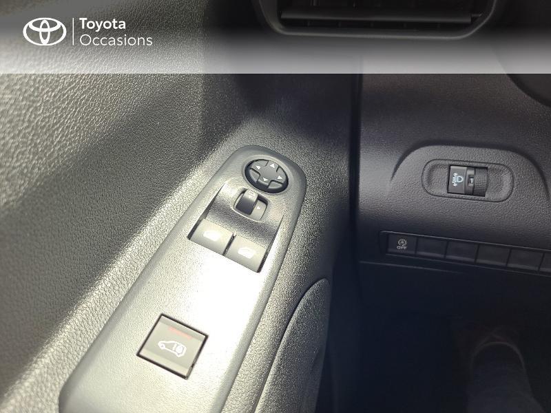 Photo 20 de l'offre de TOYOTA PROACE CITY Medium 100 D-4D Dynamic RC21 à 16480€ chez Cap Ouest Auto - Toyota Morlaix