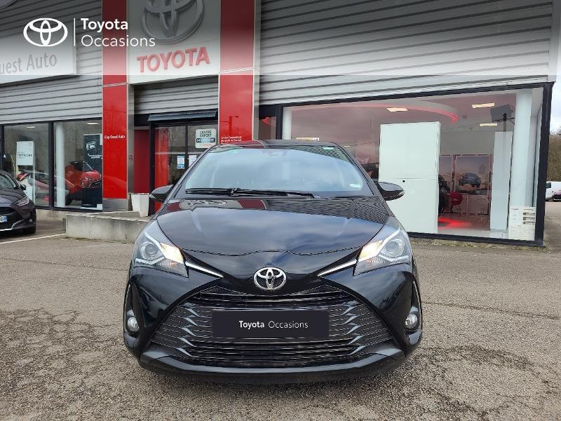 Photo 5 de l'offre de TOYOTA Yaris 70 VVT-i Design Y20 5p MY19 à 13780€ chez Cap Ouest Auto - Toyota Morlaix