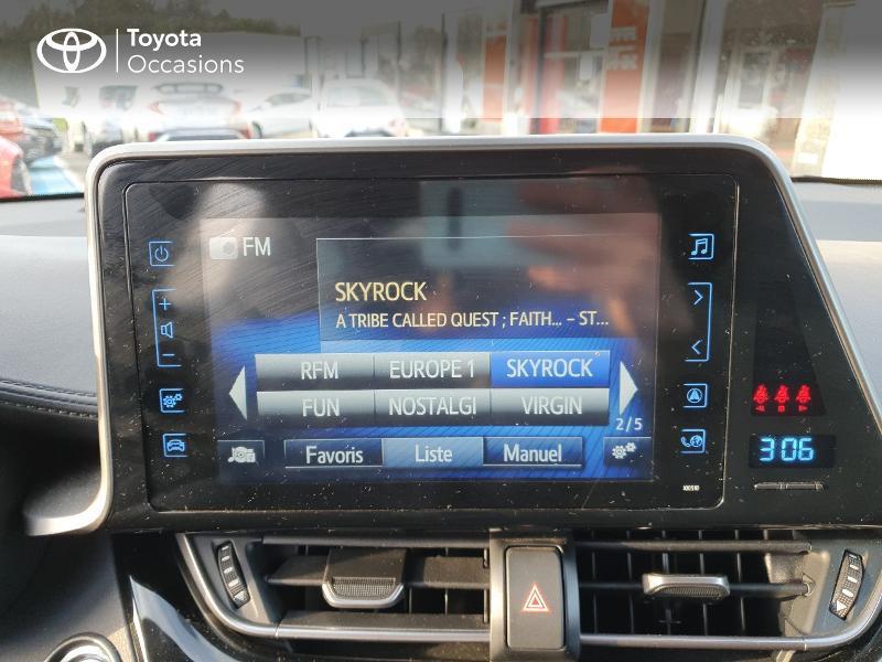 Photo 7 de l'offre de TOYOTA C-HR 122h Edition 2WD E-CVT RC18 à 21580€ chez Cap Ouest Auto - Toyota Morlaix