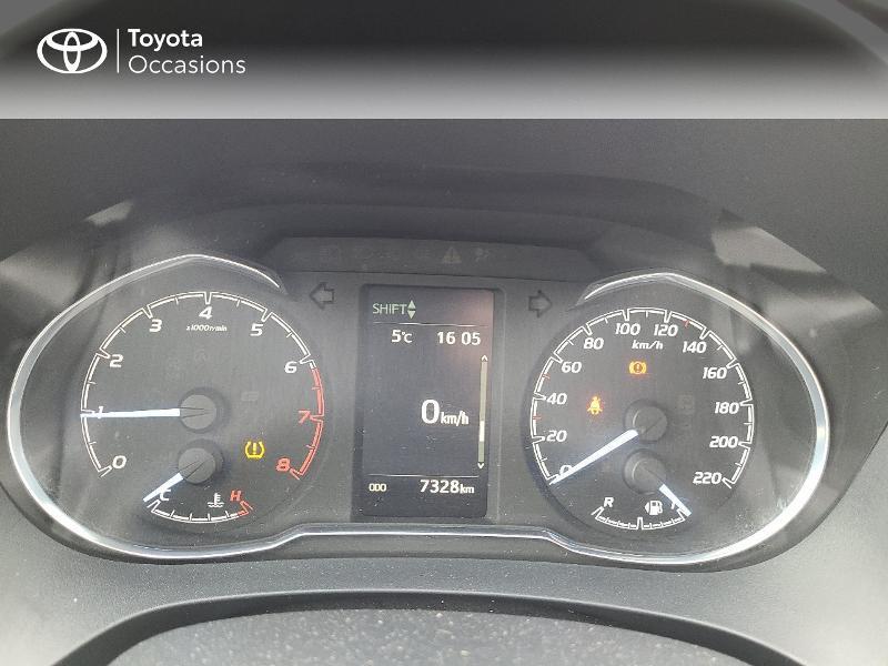 Photo 14 de l'offre de TOYOTA Yaris 70 VVT-i Design Y20 5p MY19 à 13780€ chez Cap Ouest Auto - Toyota Morlaix