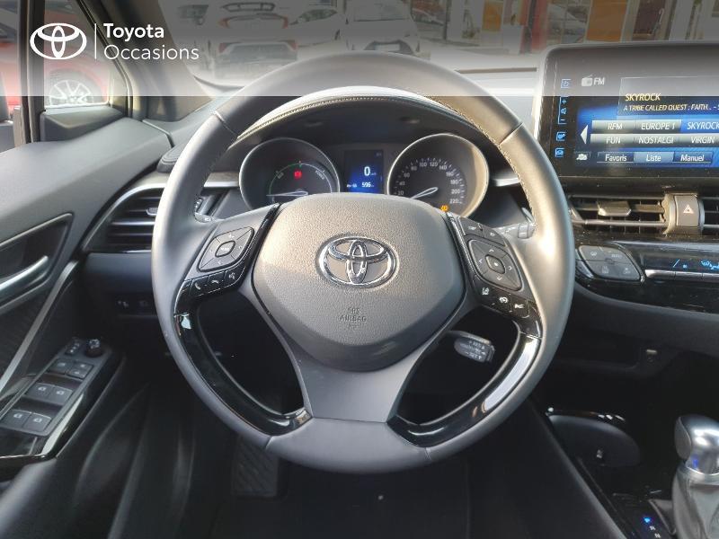 Photo 6 de l'offre de TOYOTA C-HR 122h Edition 2WD E-CVT RC18 à 21580€ chez Cap Ouest Auto - Toyota Morlaix