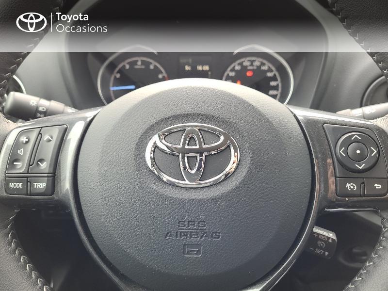 Photo 13 de l'offre de TOYOTA Yaris 70 VVT-i Design Y20 5p MY19 à 13780€ chez Cap Ouest Auto - Toyota Morlaix