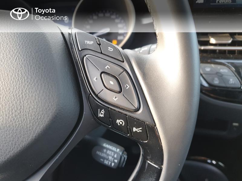 Photo 10 de l'offre de TOYOTA C-HR 122h Edition 2WD E-CVT RC18 à 21580€ chez Cap Ouest Auto - Toyota Morlaix