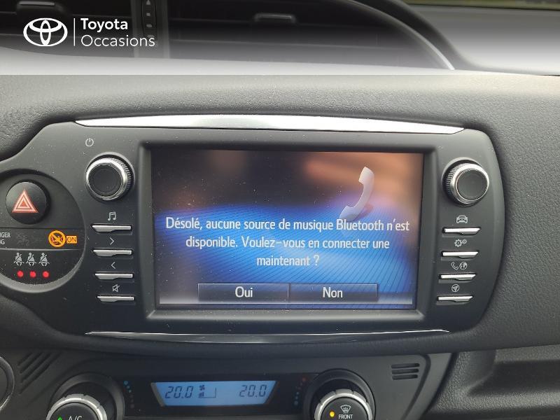 Photo 15 de l'offre de TOYOTA Yaris 70 VVT-i Design Y20 5p MY19 à 13780€ chez Cap Ouest Auto - Toyota Morlaix