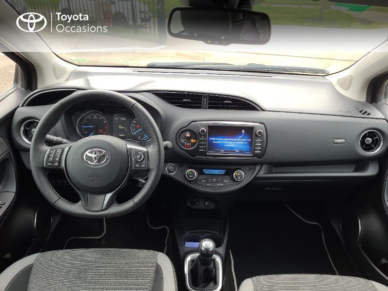 Photo 8 de l'offre de TOYOTA Yaris 70 VVT-i Design Y20 5p MY19 à 13780€ chez Cap Ouest Auto - Toyota Morlaix