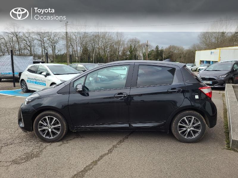 Photo 3 de l'offre de TOYOTA Yaris 70 VVT-i Design Y20 5p MY19 à 13780€ chez Cap Ouest Auto - Toyota Morlaix
