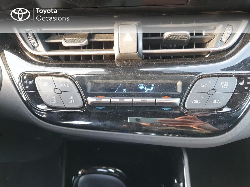 Photo 11 de l'offre de TOYOTA C-HR 122h Edition 2WD E-CVT RC18 à 21580€ chez Cap Ouest Auto - Toyota Morlaix
