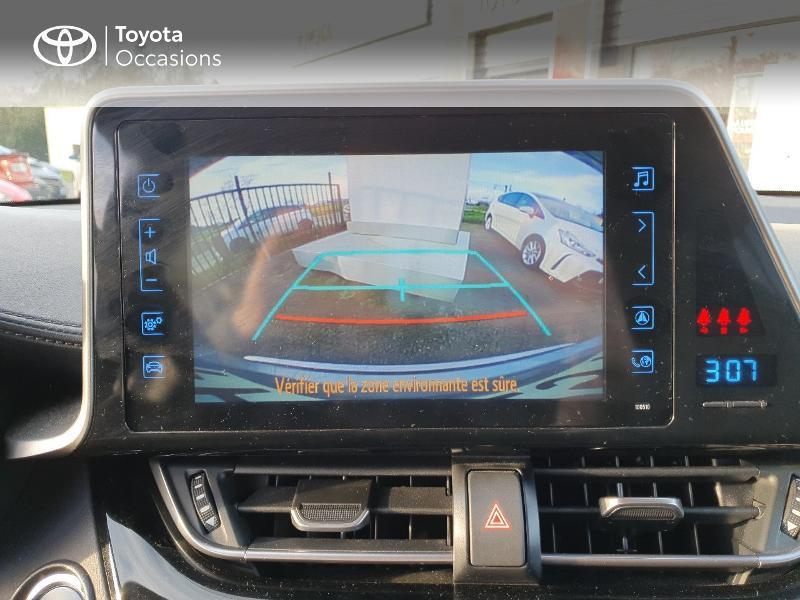 Photo 17 de l'offre de TOYOTA C-HR 122h Edition 2WD E-CVT RC18 à 21580€ chez Cap Ouest Auto - Toyota Morlaix