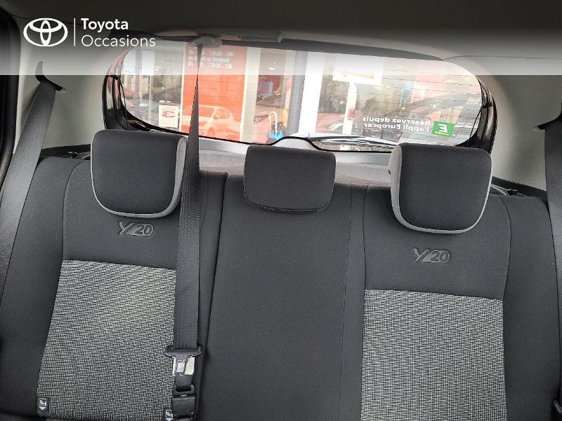 Photo 22 de l'offre de TOYOTA Yaris 70 VVT-i Design Y20 5p MY19 à 13780€ chez Cap Ouest Auto - Toyota Morlaix