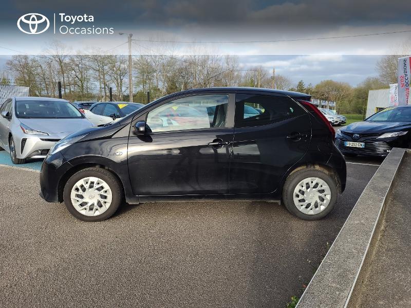 Photo 3 de l'offre de TOYOTA Aygo 1.0 VVT-i 72ch x-play x-app 5p MC18 à 9780€ chez Cap Ouest Auto - Toyota Morlaix