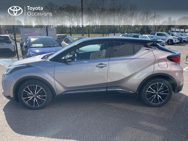 Photo 3 de l'offre de TOYOTA C-HR 184h Distinctive 2WD E-CVT MY20 à 31480€ chez Cap Ouest Auto - Toyota Morlaix