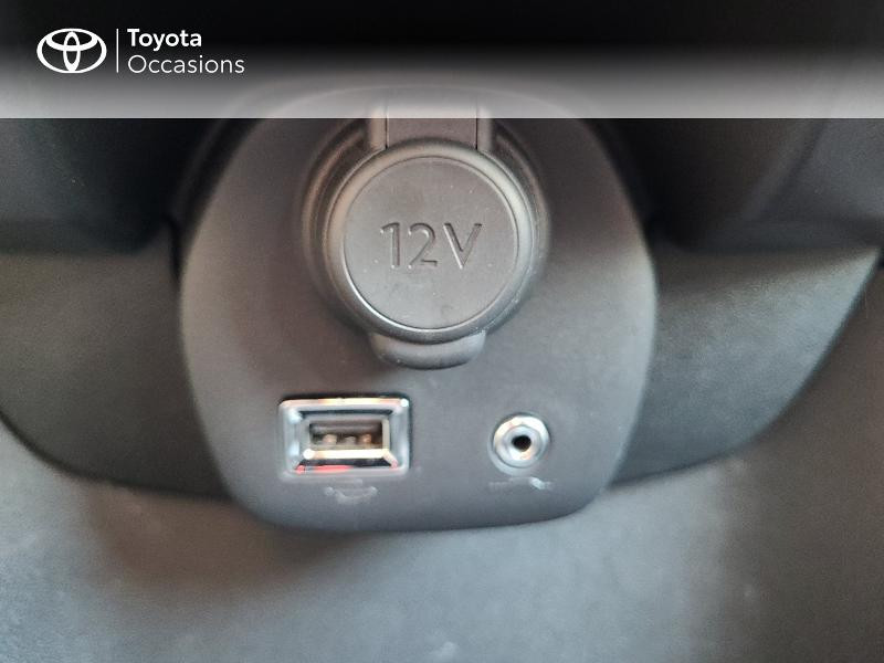 Photo 21 de l'offre de TOYOTA Aygo 1.0 VVT-i 72ch x-play x-app 5p MC18 à 9780€ chez Cap Ouest Auto - Toyota Morlaix