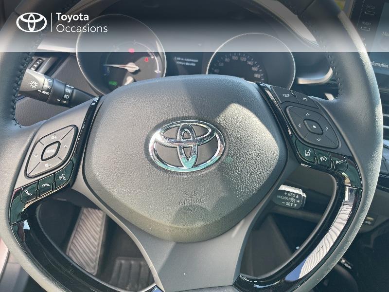 Photo 20 de l'offre de TOYOTA C-HR 184h Distinctive 2WD E-CVT MY20 à 31480€ chez Cap Ouest Auto - Toyota Morlaix