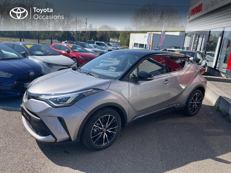Photo 1 de l'offre de TOYOTA C-HR 184h Distinctive 2WD E-CVT MY20 à 31480€ chez Cap Ouest Auto - Toyota Morlaix