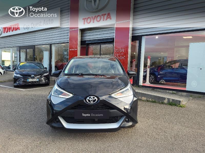 Photo 5 de l'offre de TOYOTA Aygo 1.0 VVT-i 72ch x-play x-app 5p MC18 à 9780€ chez Cap Ouest Auto - Toyota Morlaix
